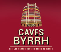Caves Byrrh logo